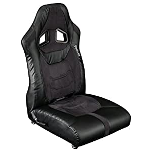 Bauhutte (バウヒュッテ) ゲーミング座椅子 リクライニング ポケットコイル キャスター採用 LOC-01-BK