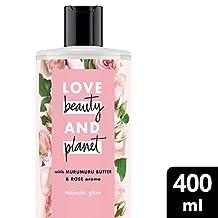 Love Beauty And Planet Murumuru Butter and Rose Majestic Glow Body Wash, 400ml