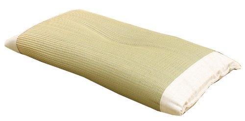 イケヒコ 枕 い草 寝具 医師との共同開発 『アスク い草枕 箱付』 約50×30cm (中材:い草チップ)