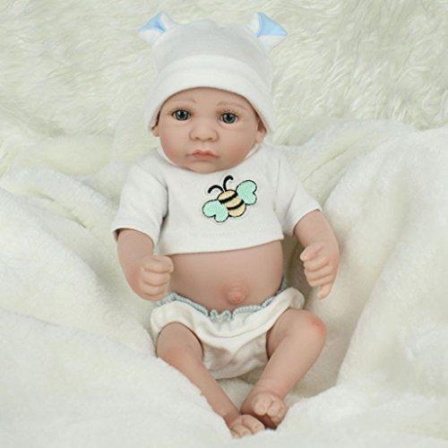 Kofun リボーン生まれの赤ちゃんリアルな人形ハンドメイドの生きたままのシリコーン...