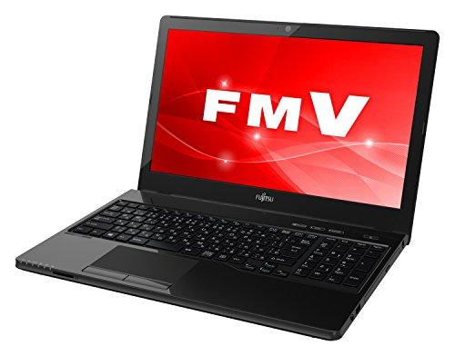 富士通 ノートパソコン FMV LIFEBOOK AHシリーズ WAA/C2 (Windows 10 Home/15.6型ワイド液晶/AMD A9/8GBメモリ/約128GB SSD/スーパーマルチドライブ/Office Home and Business 2016/シャイニーブラック)AZ_WAAC2_Z854/富士通WEB MART専用モデル