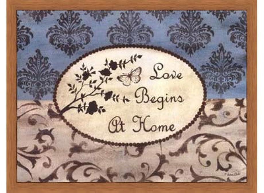 ネーピアシンプトン電子Love Begins at Home by Andrea Roberts – 16 x 12インチ – アートプリントポスター LE_665220-F8744-16x12