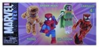 Marvel Universe Minimates 4 Pack: Thing, Spider-man, Dr. Doom, Carnage by Diamond Select