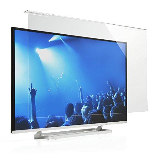 サンワダイレクト 液晶テレビ保護パネル 48インチ 49インチ 対応 アクリル製 テレビガード クリア 200-CRT022
