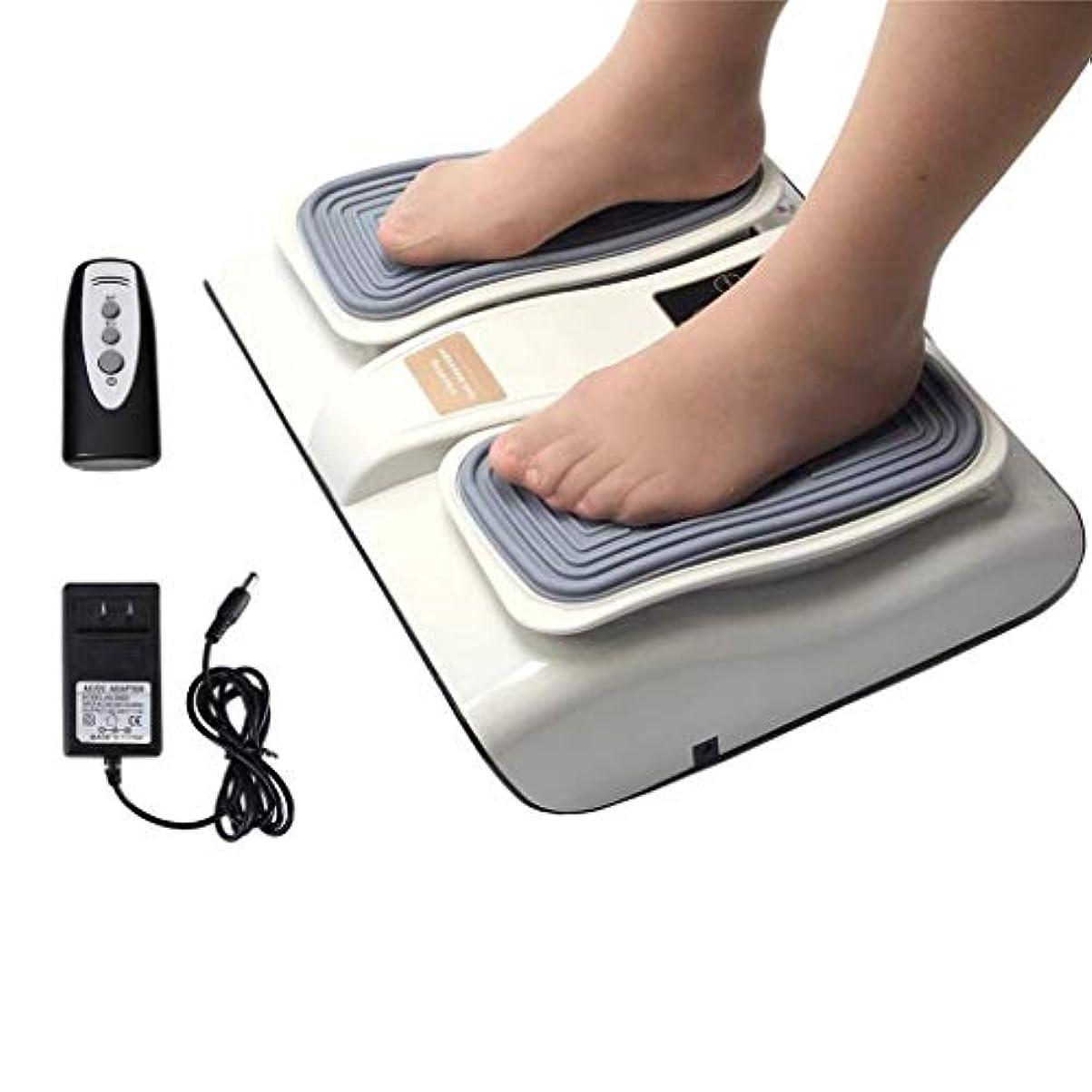 パッド視聴者流行フットマッサージャー、血液循環を促進し、足底筋膜炎を緩和するための電動足Footみマッサージ療法装置
