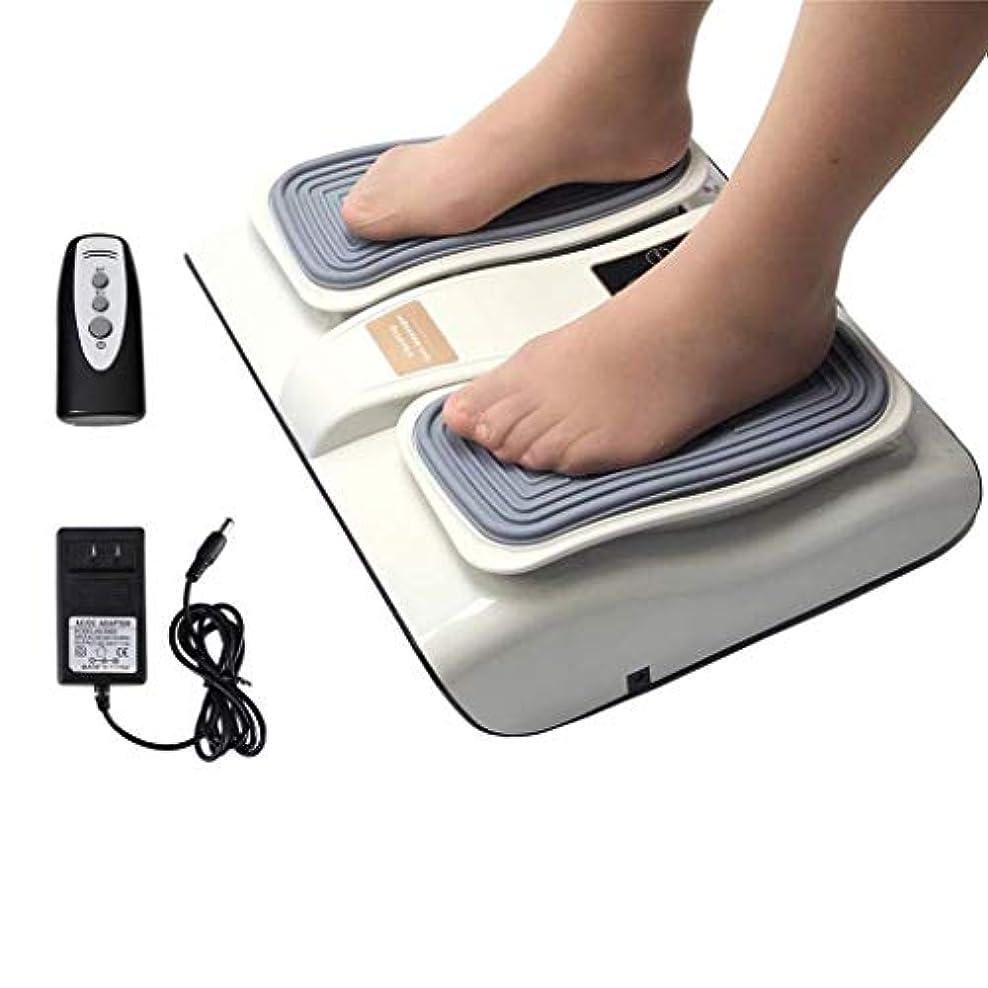 週間チョップ混雑フットマッサージャー、血液循環を促進し、足底筋膜炎を緩和するための電動足Footみマッサージ療法装置