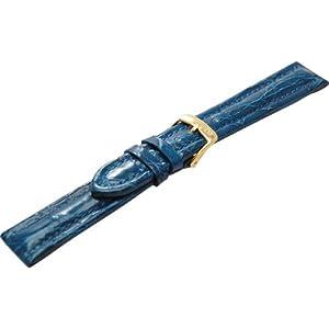 [モレラート]MORELLATO TIPO BREITLING 3 ティポ ブライトリング 時計ベルト 18mm ブルー クロコダイル時計ベルト U2120 052 065 018