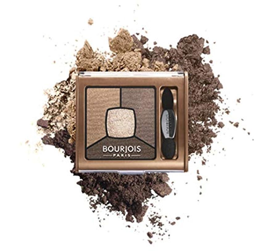 散髪トランスミッションスカリーBourjois Quad Smoky Stories Eyeshadow Upside Brown - ブルジョワクワッドスモーキー物語は逆さま茶色のアイシャドウ [並行輸入品]