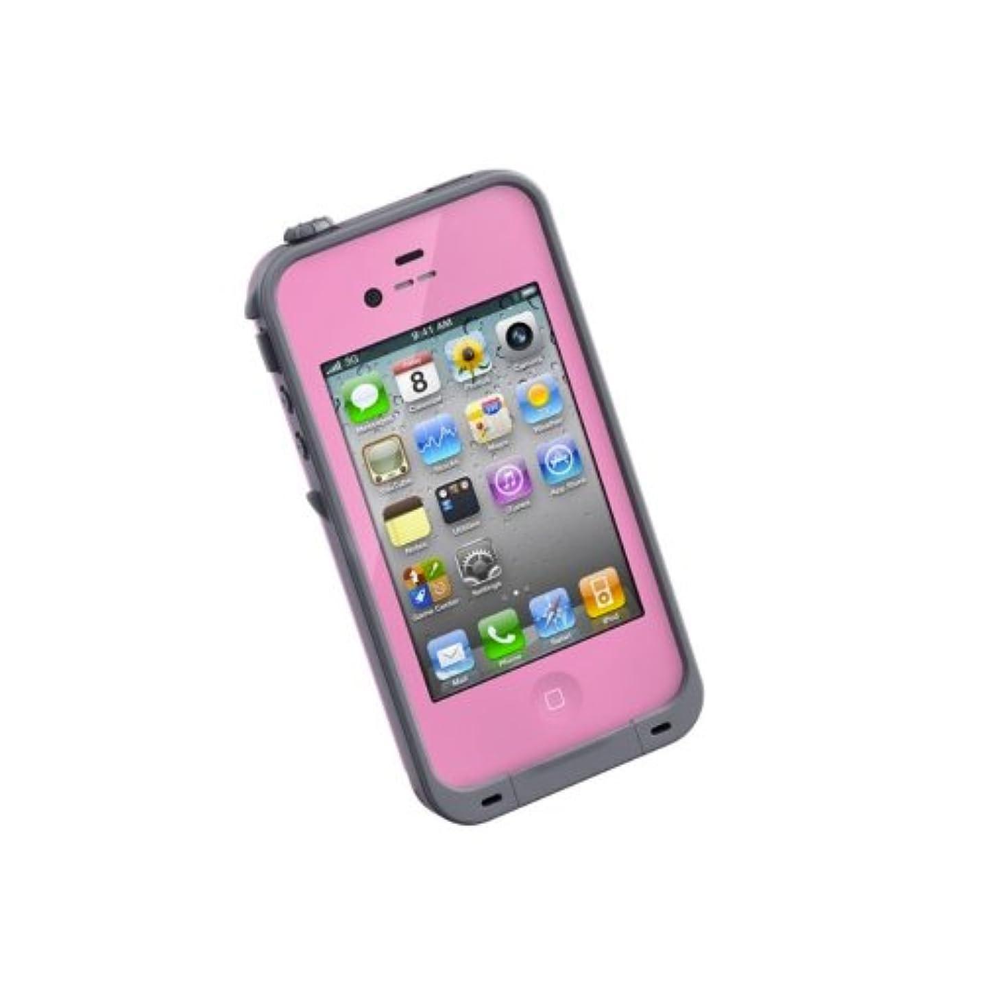 民主主義あなたのもの有料LIFEPROOF iPhone4/4S用防水防塵耐衝撃ケース LifeProof Gen2 ピンク LPIPH4CS02PK