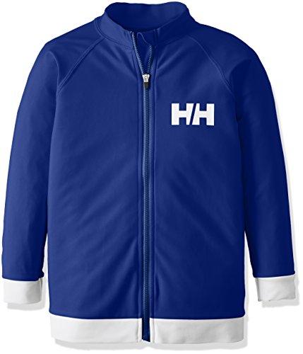 (ヘリーハンセン)HELLYHANSENキッズロングスリーブフルジップラッシュガードHJ81702BBブルーベリー110