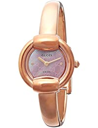 ad9dccd3754a [グッチ]GUCCI 腕時計 1400 ピンクパール文字盤 ステンレス(PGPVD)ケース ステンレス