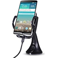 ONX3 (Qi Wireless Car Charger) Sony Xperia Z3+ / Xperia Z4 / Xperia Z3+ dual ウインドシールド/ダッシュボード用ユニバーサル高速充電QIワイヤレスカーチャージャステーションマウントホルダー