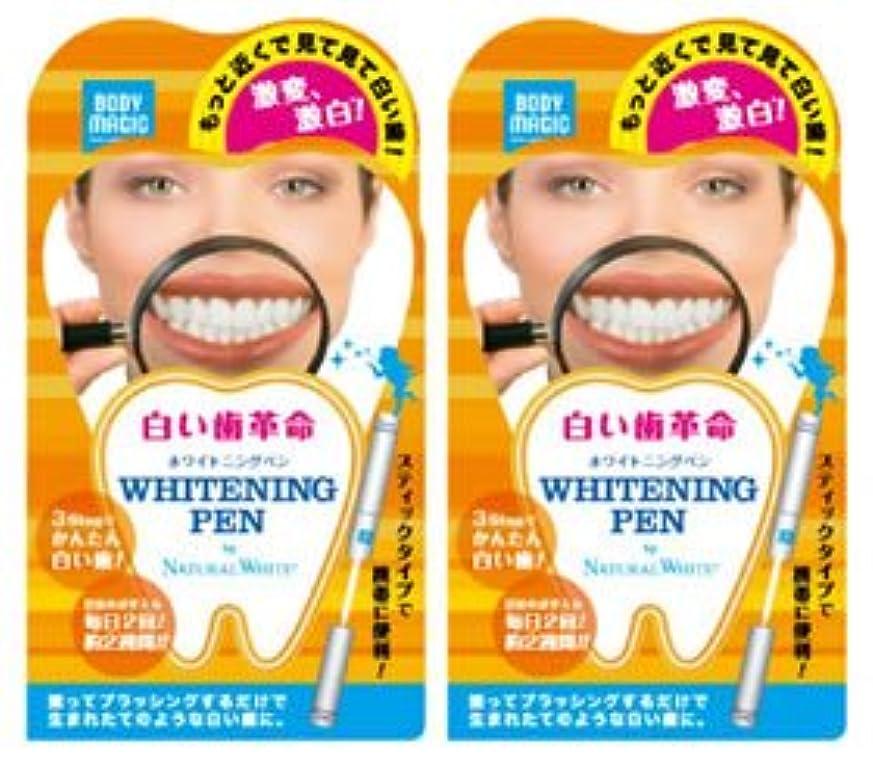 再集計才能のあるペルメル《セット販売》 ナチュラルホワイト ボディマジック ホワイトニングペン 2個セット 【白い歯革命】 ラピッドホワイトBスティック 【ジェルハミガキ】