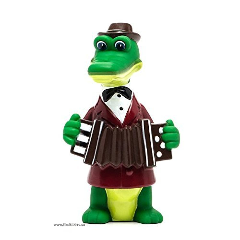 Gena The Crocodile Bath Toy (5.5) [並行輸入品]