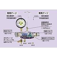 デンゲン POEオイル対応2バルブ マニホールドゲージ(ハイブリッド車等) CP-MG222H