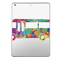 第2世代 iPad Pro 10.5 inch インチ 共通 スキンシール apple アップル アイパッド プロ A1701 A1709 タブレット tablet シール ステッカー ケース 保護シール 背面 人気 単品 おしゃれ ユニーク カラフル レインボー バス イラスト 008229