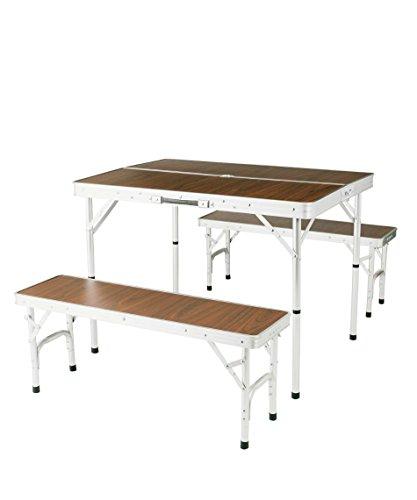 ビジョンピークス コンパクトテーブルベンチセット