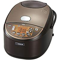 象印 IH炊飯器 1升 (10合) 極め炊き ブラウン NP-VZ18-TA