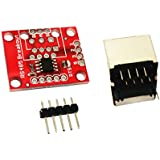 BAOBLADE RS485 Breakout Board MAX485 Communication Module RS485 to TTL Module with RJ45 Connector 3.3V 5V