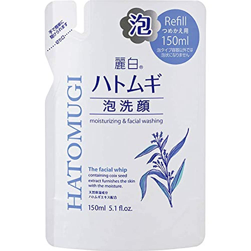 対人データム北西麗白 ハトムギ 泡洗顔 詰替用 150mL
