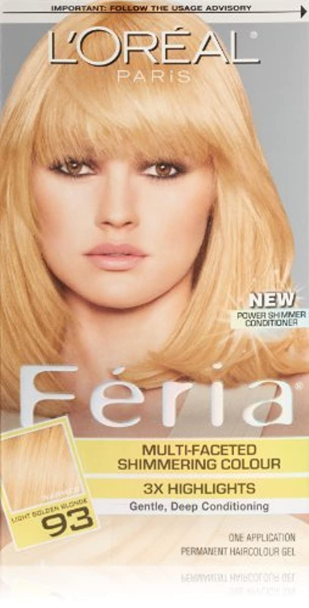 周術期会計士聖書Feria Candle Glow by L'Oreal Paris Hair Color [並行輸入品]
