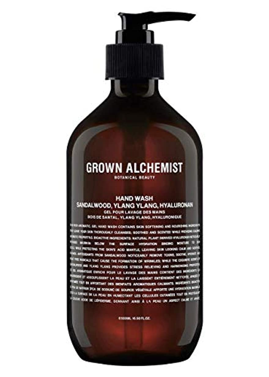 正確な選択する振動するGrown Alchemist Hand Wash - Sandalwood, Ylang Ylang & Hyaluronan 500ml/16.9oz並行輸入品