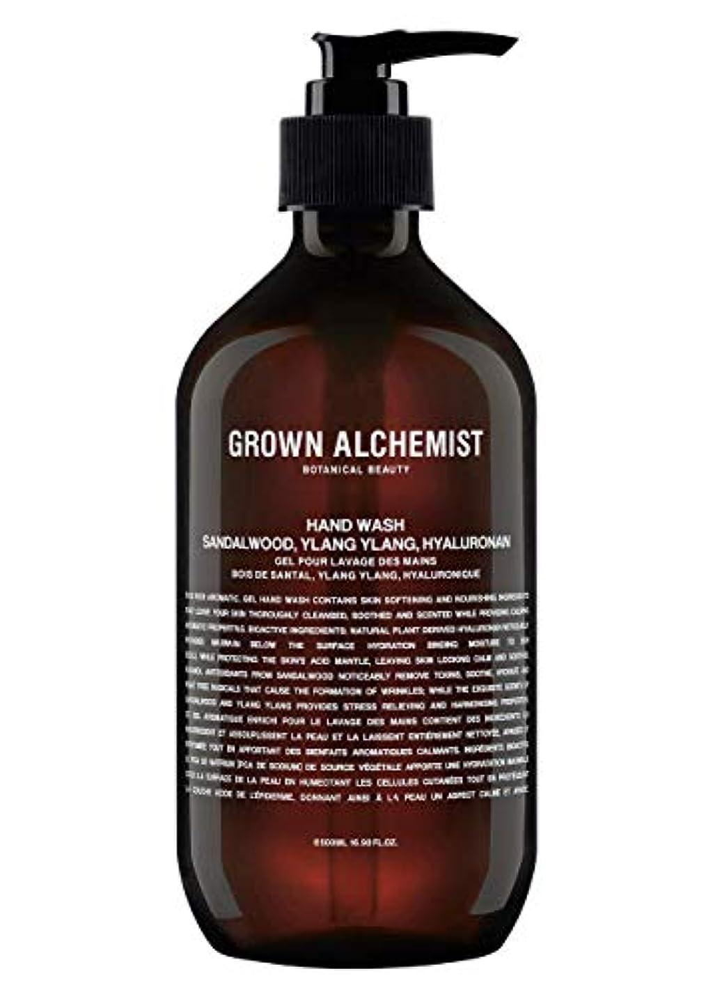 グレー一回パプアニューギニアGrown Alchemist Hand Wash - Sandalwood, Ylang Ylang & Hyaluronan 500ml/16.9oz並行輸入品