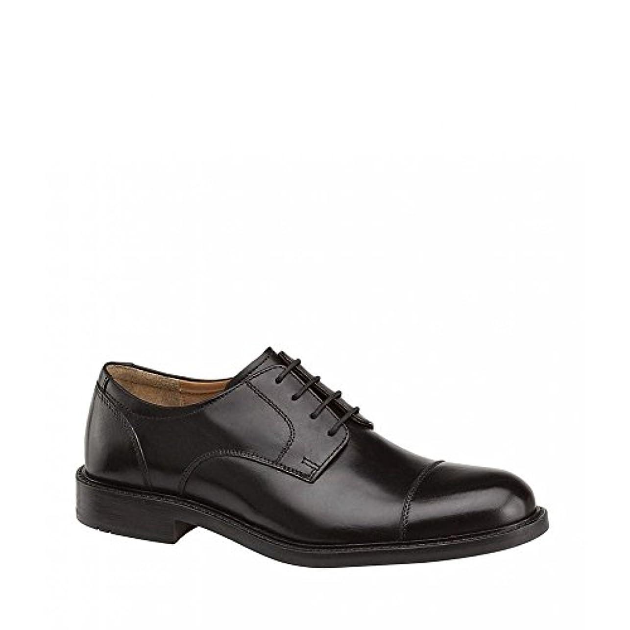 縞模様のスライムファランクス(ジョンストン&マーフィー) Johnston & Murphy メンズ シューズ?靴 革靴?ビジネスシューズ Tabor Oxfords [並行輸入品]