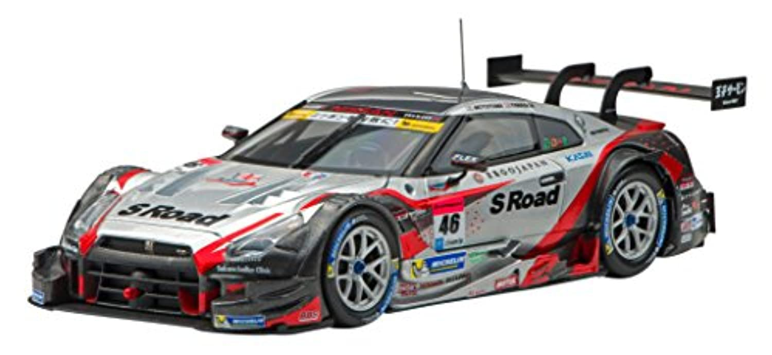 エブロ 1/43 S Road MOLA GT-R SUPER GT500 2015 Rd.4 Fuji No.46 完成品