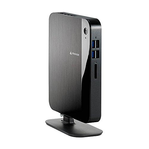 mouse デスクトップパソコン Lm-miniI34120-ZB /Windows 10 Home 64bit /Core i3 6100U /4GB /120GB SSD