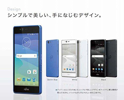富士通 SIMフリースマートフォン arrows M04(デニムブルー)【日本正規代理店品】 FARM06313-5