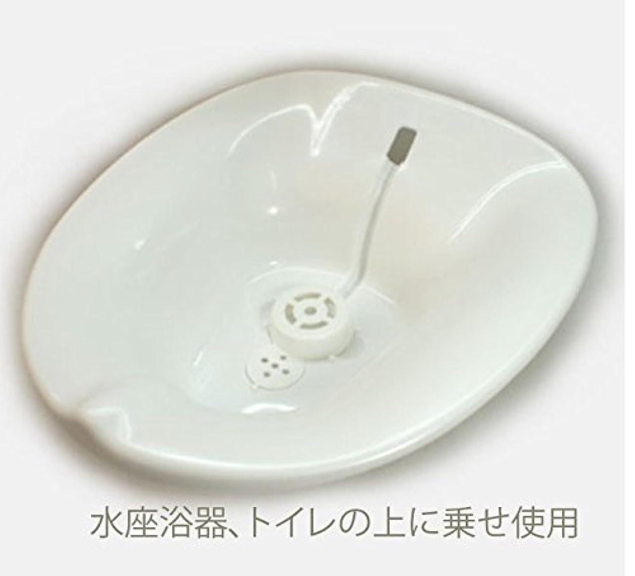 ワイプかけがえのないファブリックお尻の座浴、、座浴のため、軟らかいトイレの水座浴用器、現在は色は白です