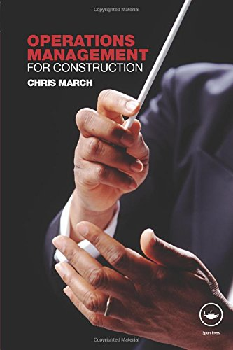 Download Operations Management for Construction 0415371139
