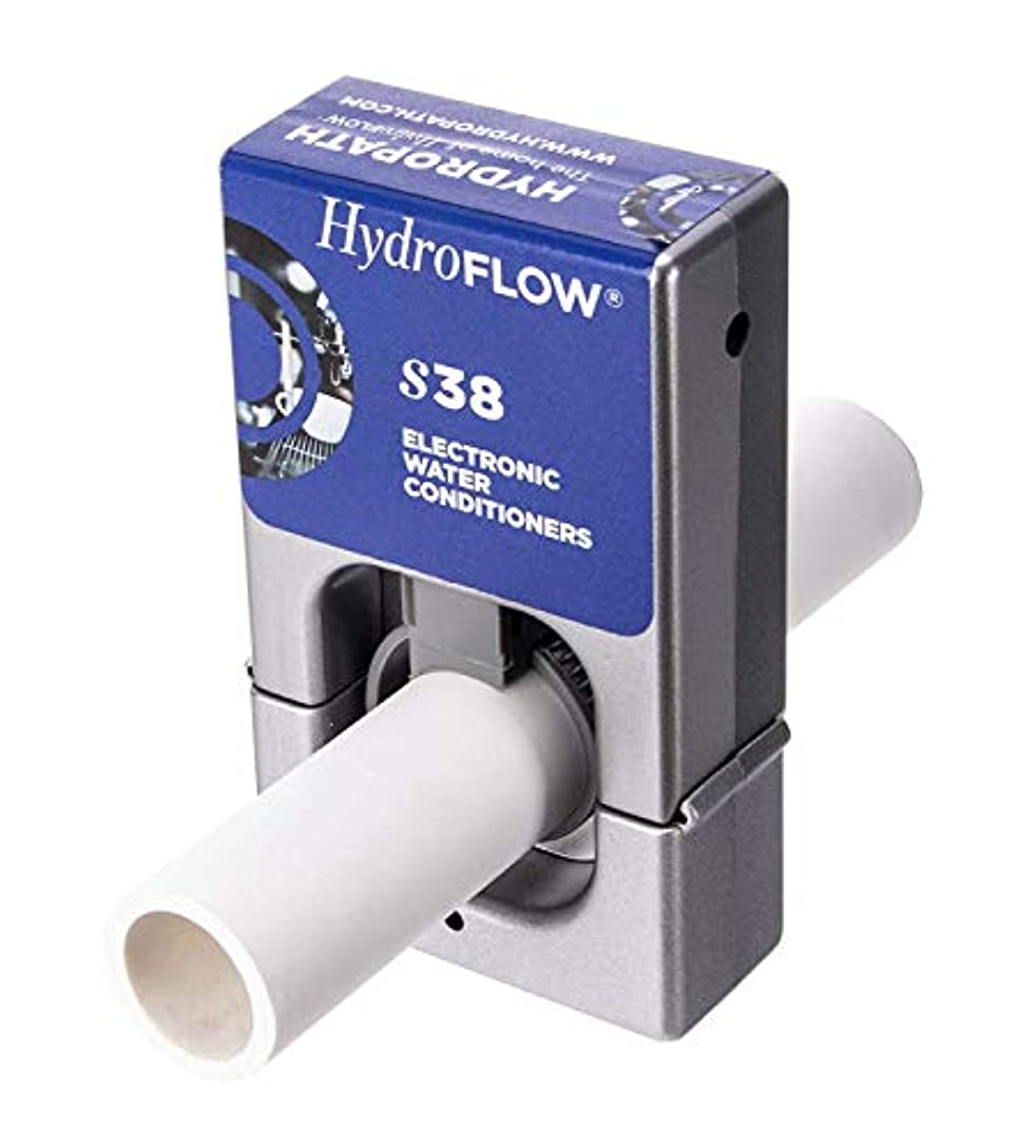 アマチュア資本アーチHydroFLOW S38 Chemical Free Water Conditioner by HydroFLOW