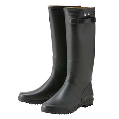 AIGLE エーグル レインブーツ CHANTEBELLE シャンタベル ラバーブーツ 長靴 [並行輸入品] BLACK(86566)/ブラック UK37/23.5cm