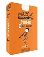 MARCA プリモ PRIMO CL3.1/2 リードB♭クラリネット/10枚入 (マーカ) (3.5)