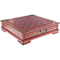 Fenteer 木製 中国 チェス ボード テーブルゲーム セット