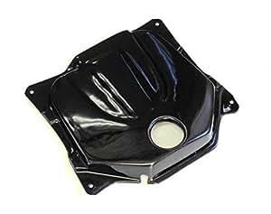 RinParts(リンパーツ)ズーマー Fiモデル専用 ガソリンタンクカバー ブラック 1101410