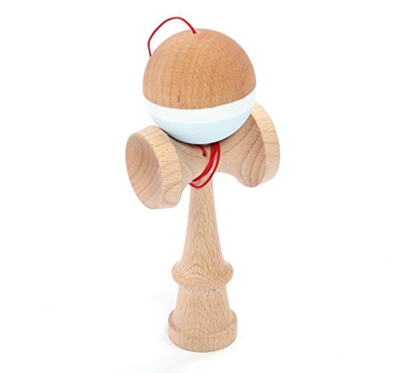 Alston Beech木製けん玉おもちゃwith Extra文字列 ブルー ALT-KENDAMABLUE