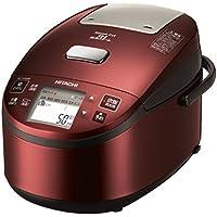 日立 炊飯器 圧力IHスチーム 5.5合 打込み鉄釜 RZ-YV100M R