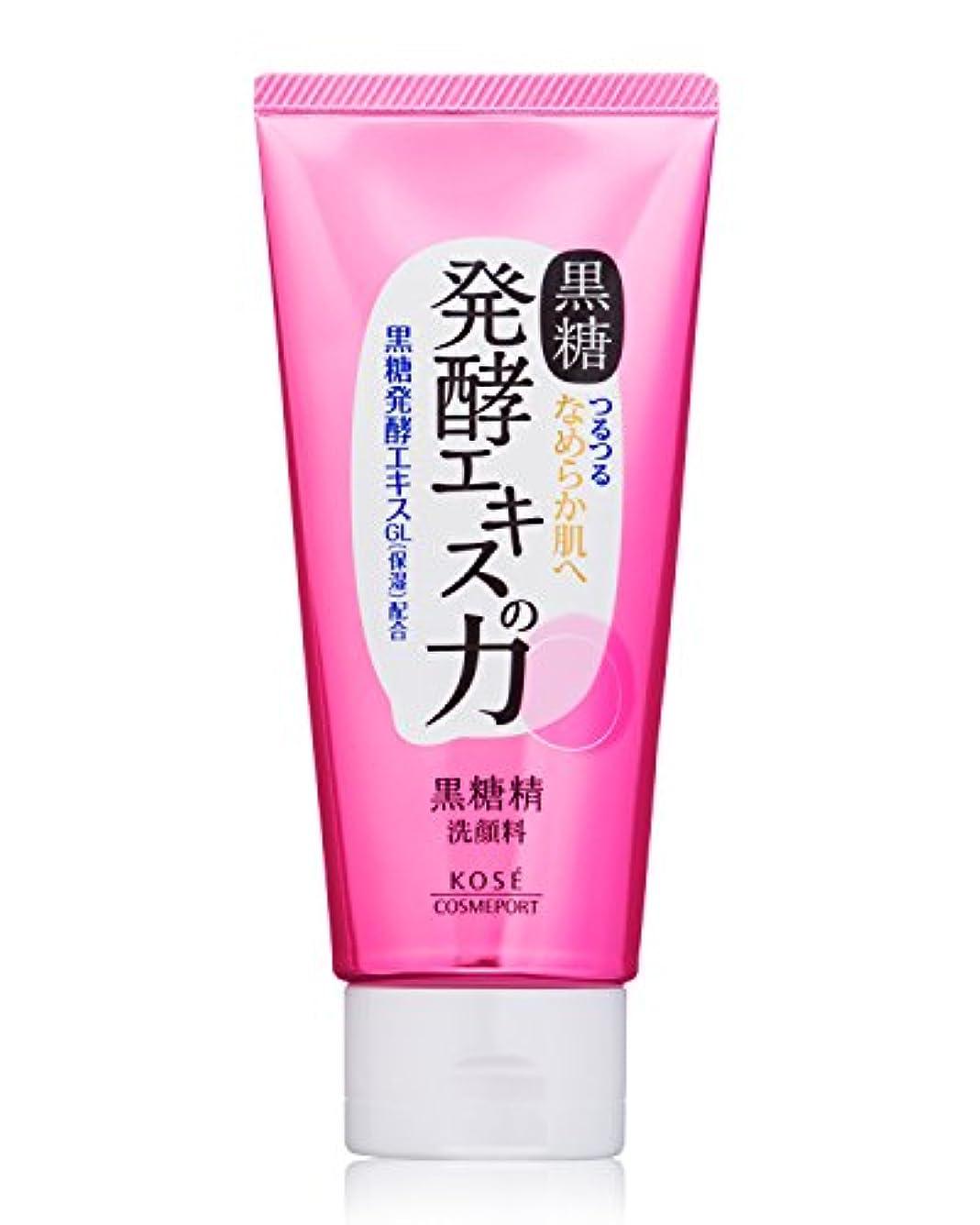 酸化物ラボボードKOSE コーセー 黒糖精 毛穴すっきり 黒洗顔 130g