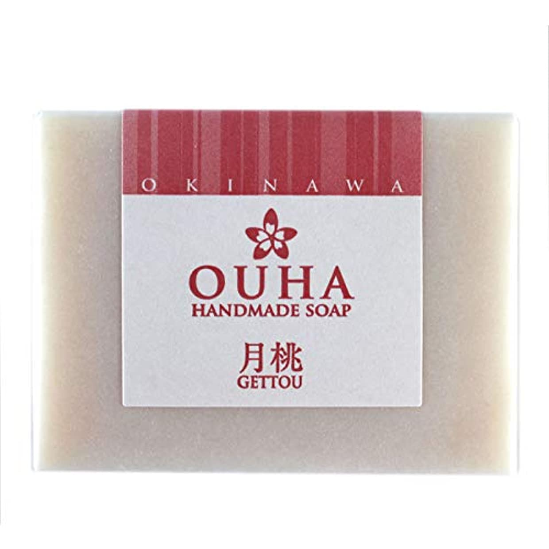 【送料無料 レターパックライト】沖縄県産 OUHAソープ 月桃 石鹸 100g 3個セット