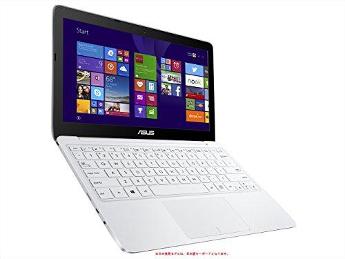 ASUS ノートブック X205TA ホワイト ( WIN8.1 BING-32B / 11.6inch / Z3735F / eMMC 64GB / 2GB / BT4.0 ) X205TA-B-WHITE