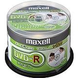 maxell データ用DVD-R 16倍速対応 シルバープリンタブルディスク 50枚スピンドルパック DR47DPNS.50SP