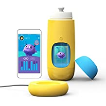 (Submarine Yellow) - Gululu The Interactive Water Bottle & Health Tracker for Kids, Plus App