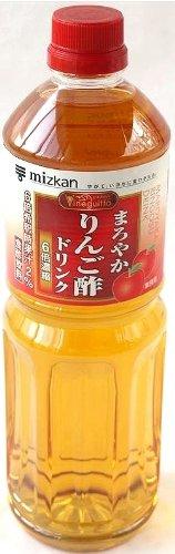 ミツカンビネグィットりんご酢6倍 1000ml ×24本 ミツカン[調味料]