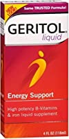 Geritol Liquid 4 oz (Pack of 2)