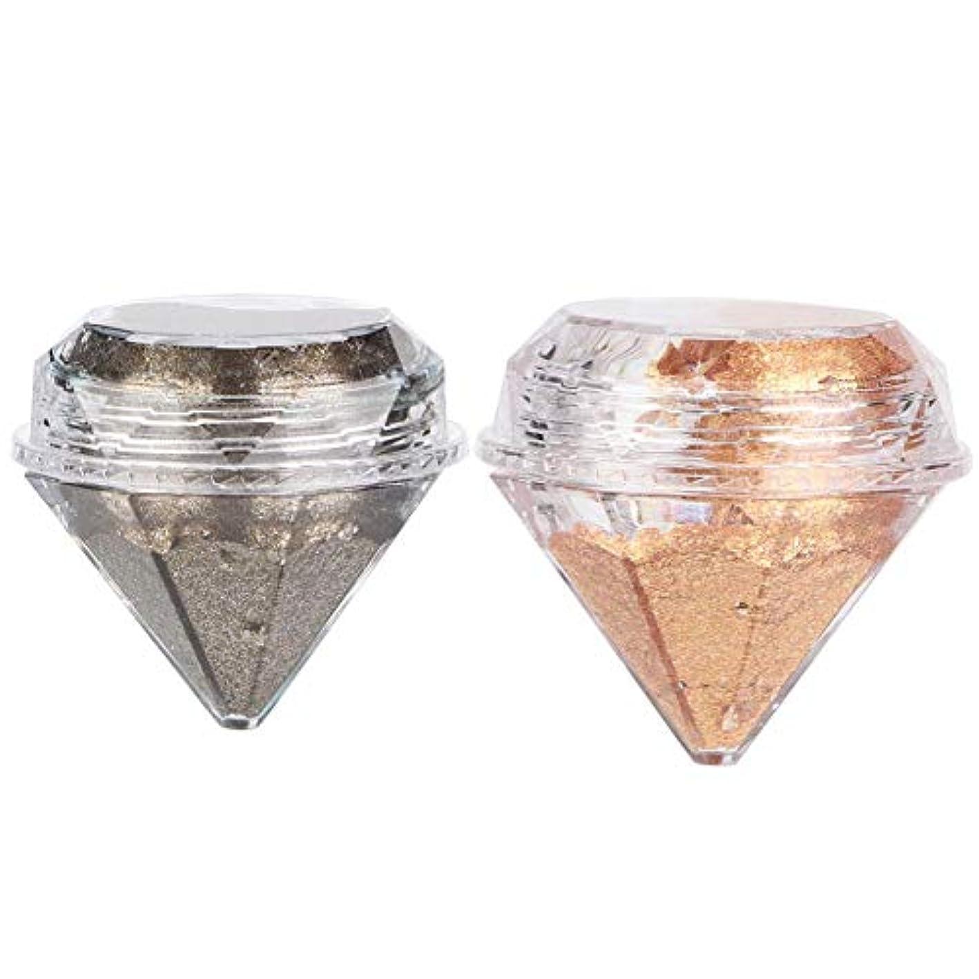 はず確かに報いるアイシャドウクリームパールシャイニングダイヤモンドリキッドアイシャドーメイクアップツール(01)
