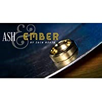Ash and Ember Gold Beveled Size 11 (2 Rings) by Zach Heath - Trick by Murphys Magic Supplies Inc. [並行輸入品]