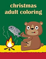 Christmas Adult Coloring: A Funny Coloring Pages for Animal Lovers for Stress Relief & Relaxation (Kids Sport)